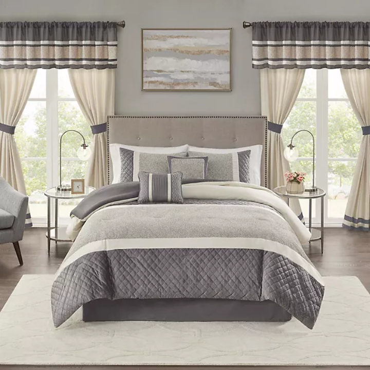 15% OFF 6-Piece Comforter Set with Shams