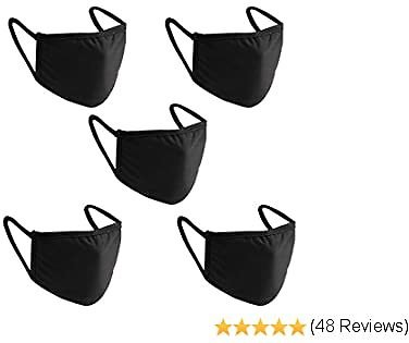 Jecoo Face Mouth Cover Washable and Reusable Protective Cloth Cover