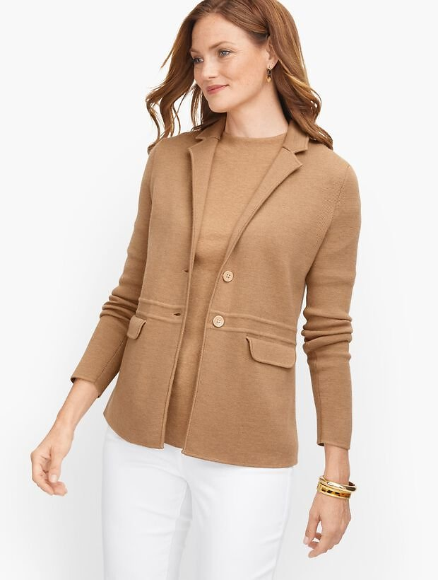 Merino Sweater Jacket
