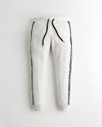 Guys Skinny Terry Jogger Pants | Guys Clearance | HollisterCo.com