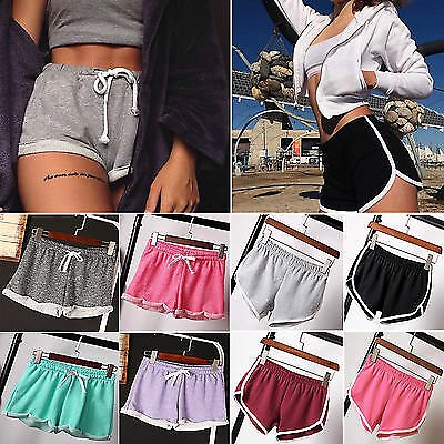 Womens Sexy Hot Shorts Casual Sports Pants for Running Yoga Fitness Athleisure