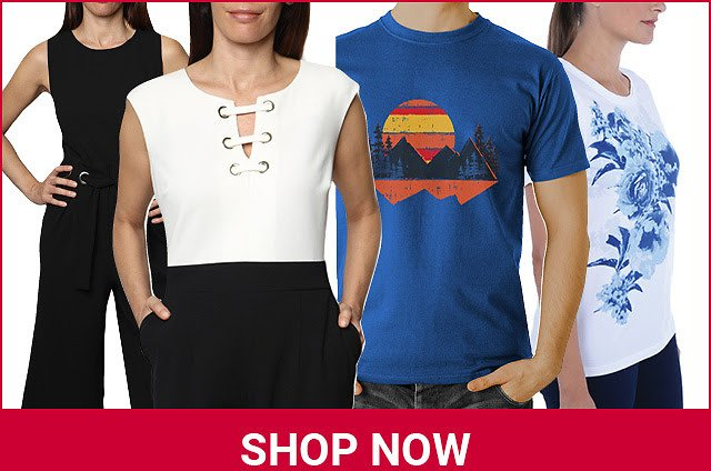 Apparel Clearance Sale From $2.96