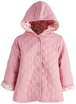 First Impressions Toddler Girls Quilted Fox Floral Jacket, Created for Macy's & Reviews - Kids