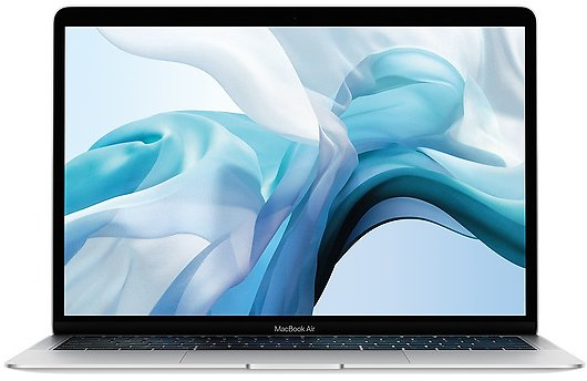 Refurbished 13.3-inch MacBook Air 1.6GHz Dual-core Intel Core I5 with Retina Display and True Tone Technology - Silver