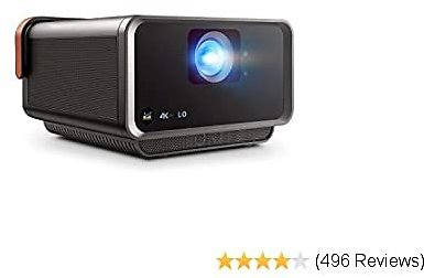 2020 LED Portable Smart Wi-Fi Home Theater Projector Compatible with Amazon Alexa and Google Assistant
