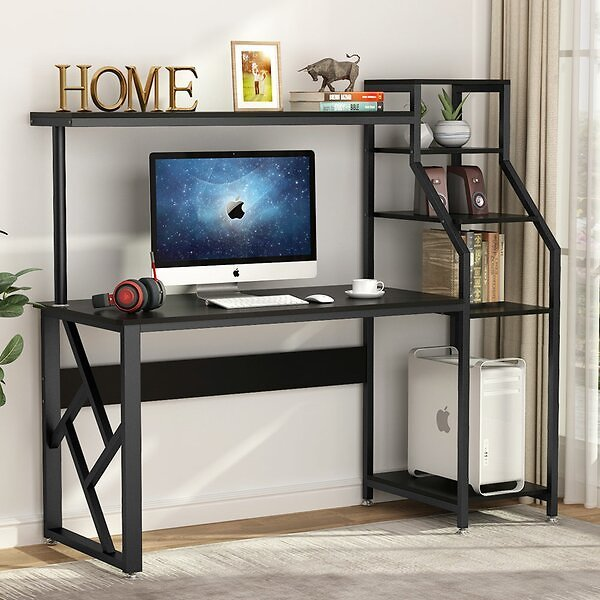 16% OFF | Large Office Desk with Hutch