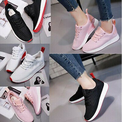 Women's New Breathable Sports Running Shoes Athletic Gym Outdoor Casual Sneaker