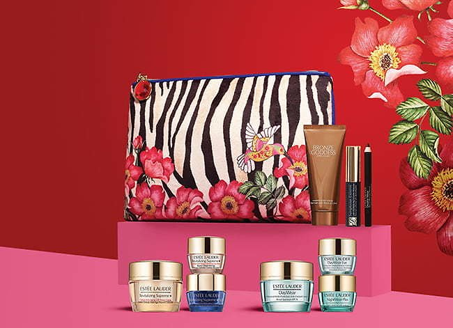 Free 7-pc Gift Sets + a Free Full-size ANR Reset Concentrate with $100 Order Estee Lauder