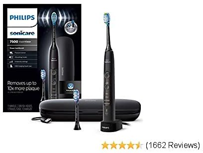Philips Soniccare Bluetooth Rechargeable Electric Toothbrush, Black