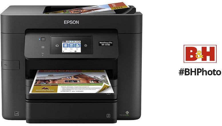 Epson WorkForce Pro WF-4730 All-in-One Inkjet Printer