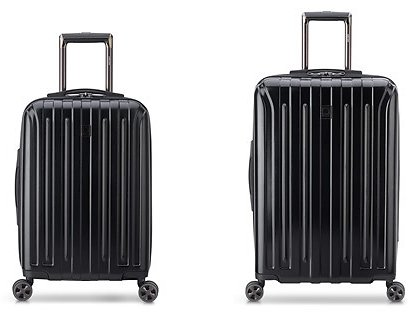 DELSEY Paris Titanium DLX Hardside Luggage with Spinner Wheels (12/25)