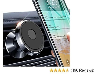 Extra 50% Off Magnetic Phone Car Mount - Strong Magnet Air Vent Mount 360° Rotation Car Phone Holder