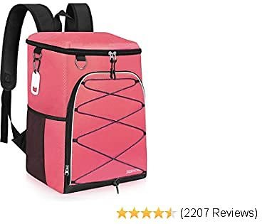SEEHONOR Insulated Cooler Backpack Leakproof Soft