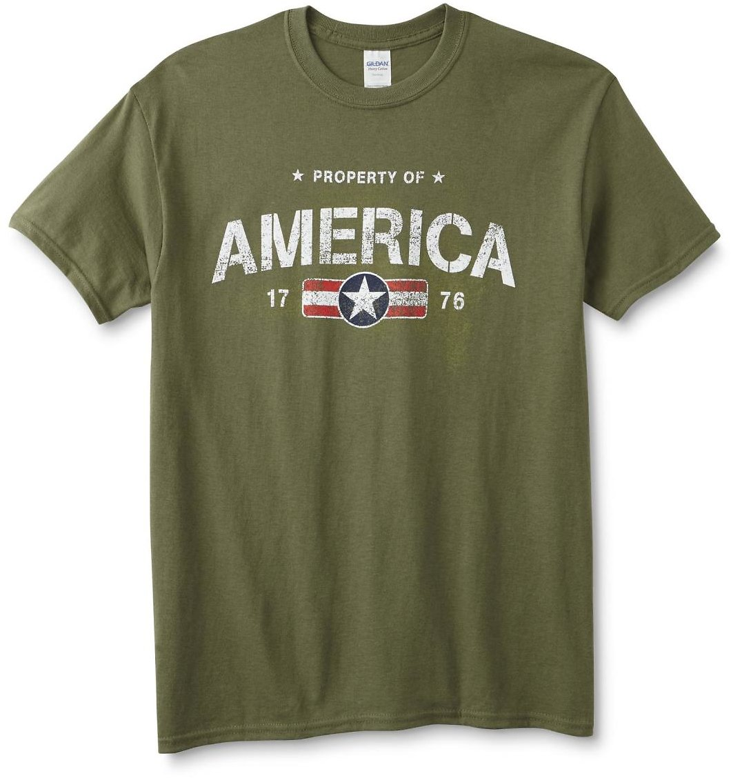 Men's Graphic T-Shirt - Property of America