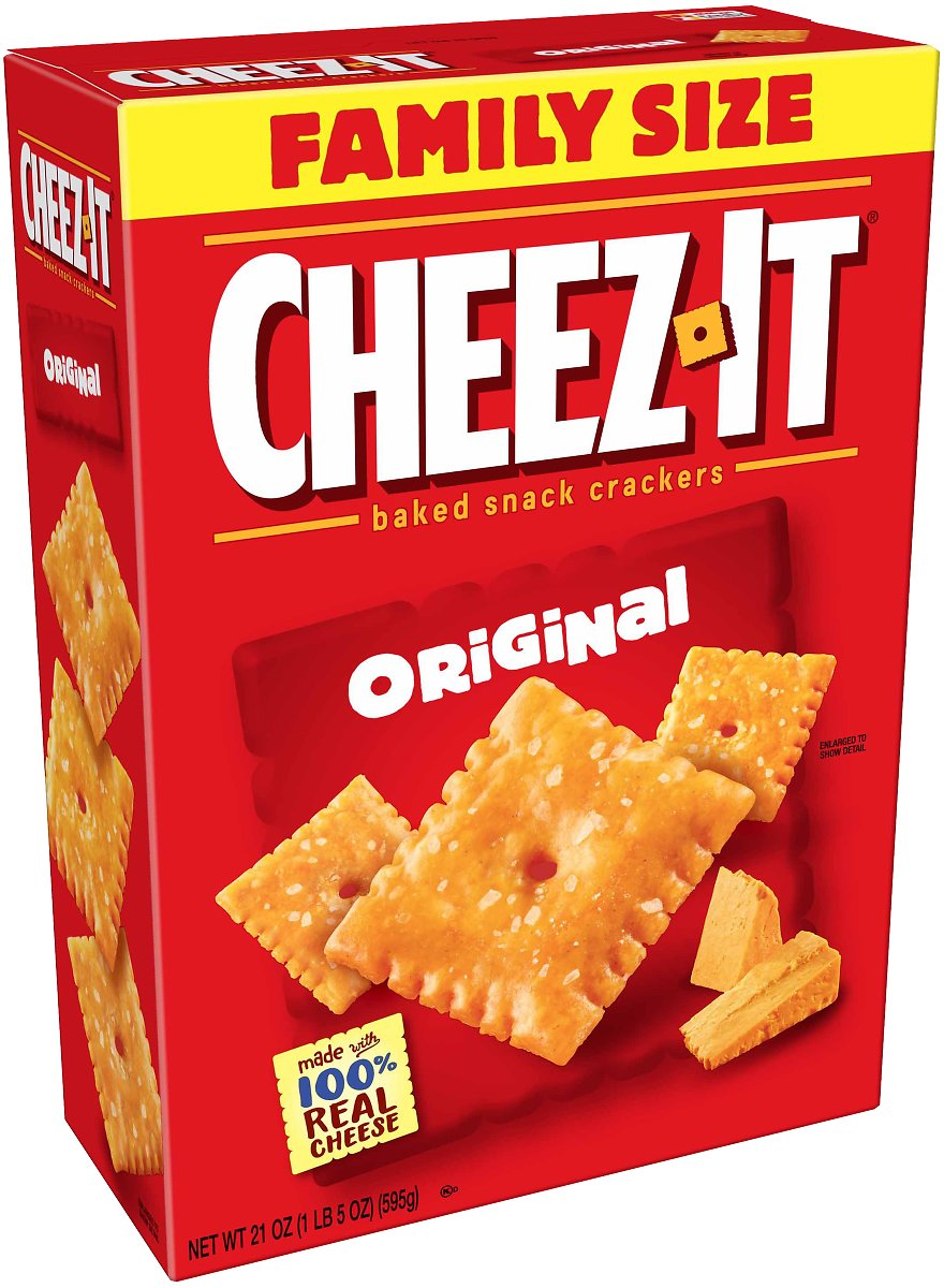 Cheez-it Cheez-it Original Baked Snack Crackers, 21 Oz. Box
