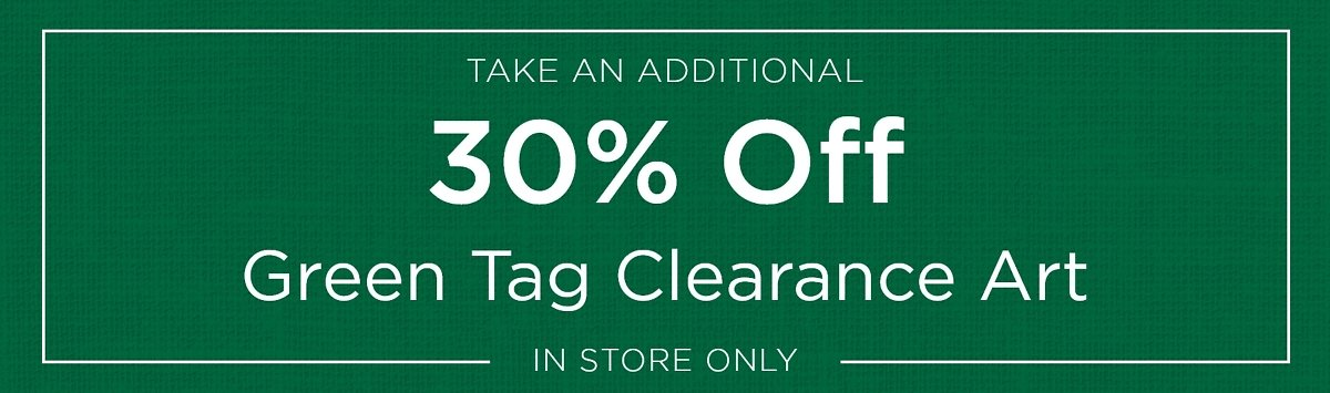 Extra 30% Off Green Tag Clearance Art Sale | Kirklands