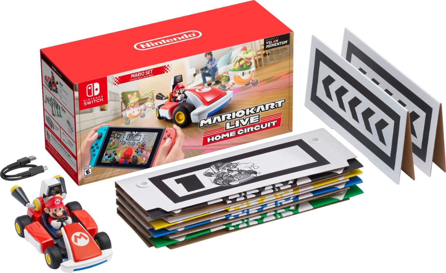 Mario Kart Live: Home Circuit Nintendo Switch, Nintendo Switch Lite HACRRMAAA