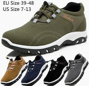 Men's Casual Athletic Sneakers Outdoor Running Hiking Tennis Shoes Jogging Gym