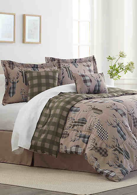6-Piece Comforter Sets Bed-in-a-Bag ( Multi Styles)