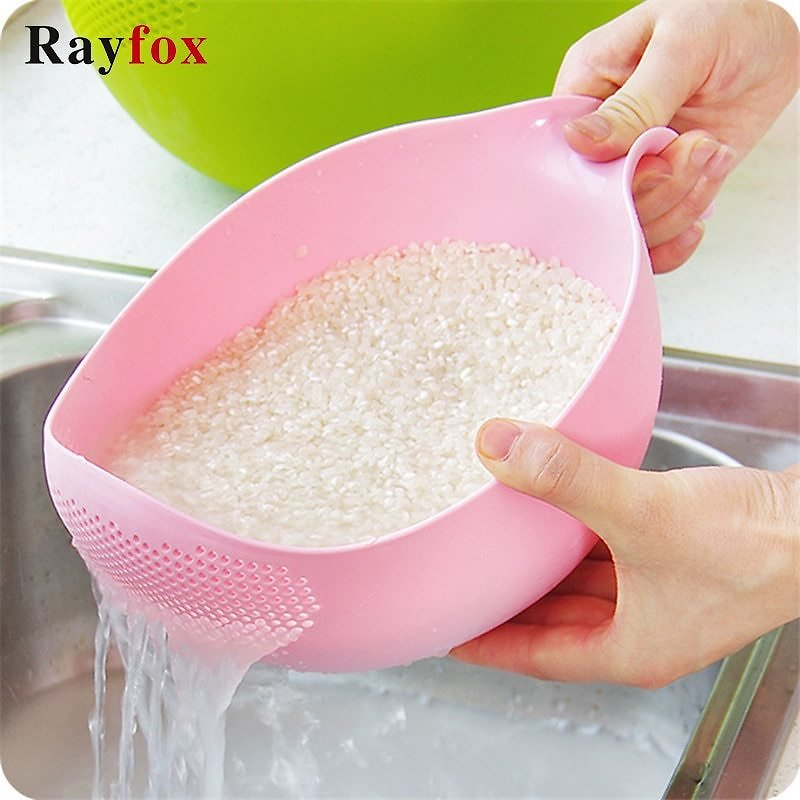 US $2.05 25% OFF|Fruit Vegetable Washing Kitchen Accessories Fruit Bowl Filter Cleaning Plastic Colander Strainer Kitchen Gadgets Cooking Tools| | - AliExpress