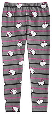 Hello Kitty Little Girls Striped Leggings & Reviews - Leggings & Pants - Kids