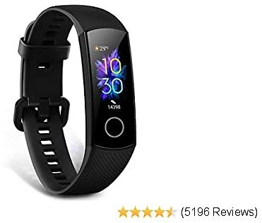 Honor Band 5 Smart Watch, Smart Watch with SpO2 Monitor Heart Rate and Sleep Monitor Calorie Counter Pedometer Step Bracelet for Men Women Kids,