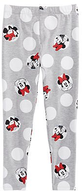 Disney Little Girls Minnie Mouse Dot Leggings & Reviews - Leggings & Pants - Kids