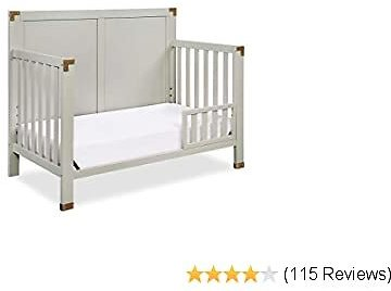 Baby Relax Mile Toddler Guardrail, Graphite Grey