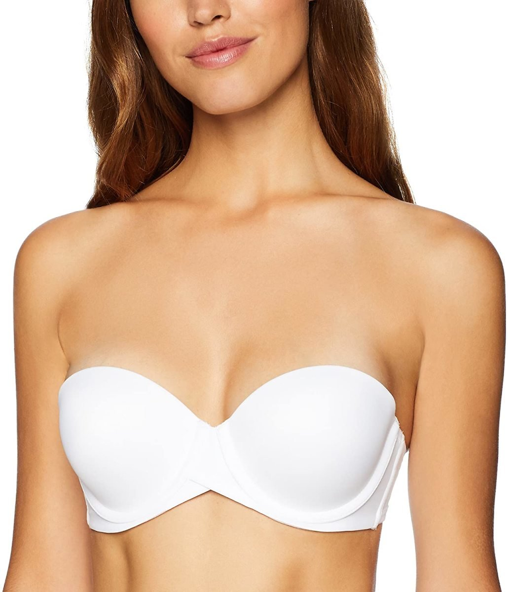 Maidenform Self Expressions Women's Stay Put Strapless with Lift Bra