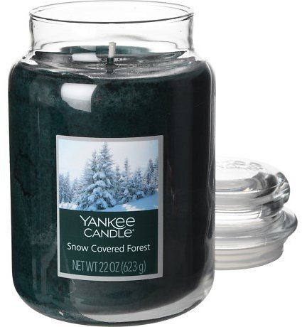 Yankee Candle Snow-Covered Forest Candle - 22 Oz.