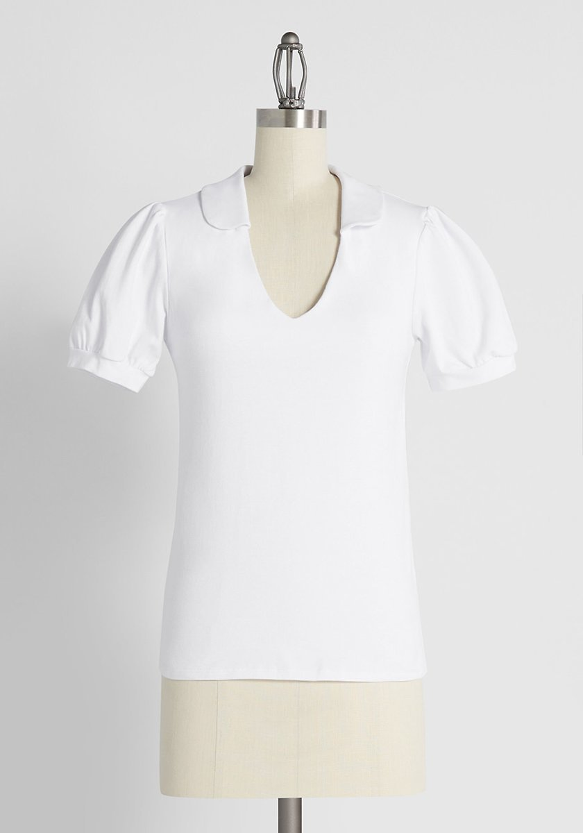 Take It or Sleeve It V-Neck Top