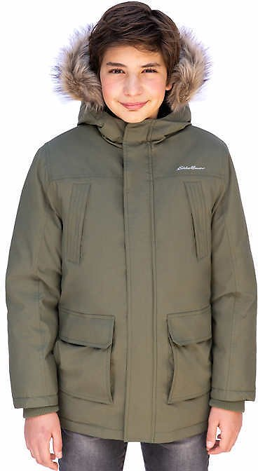 Eddie Bauer Youth Down Parka Jacket (2 Colors)