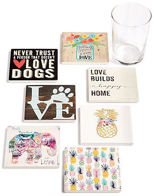 Thirstystone Mix & Match Individual Coaster Collection