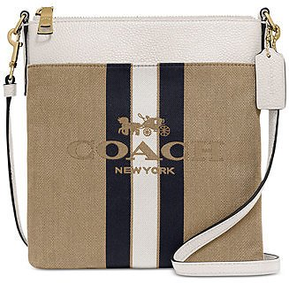 COACH Kitt Messenger Crossbody With Horse And Carriage
