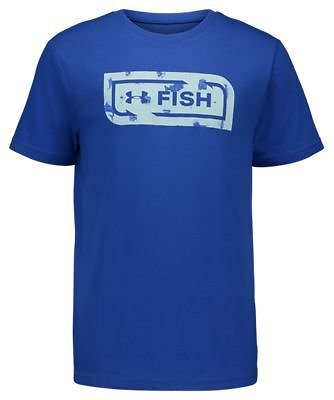Under Armour Bait and Tackle Fish Icon Short-Sleeve T-Shirt for Toddlers or Kids | Bass Pro Shops