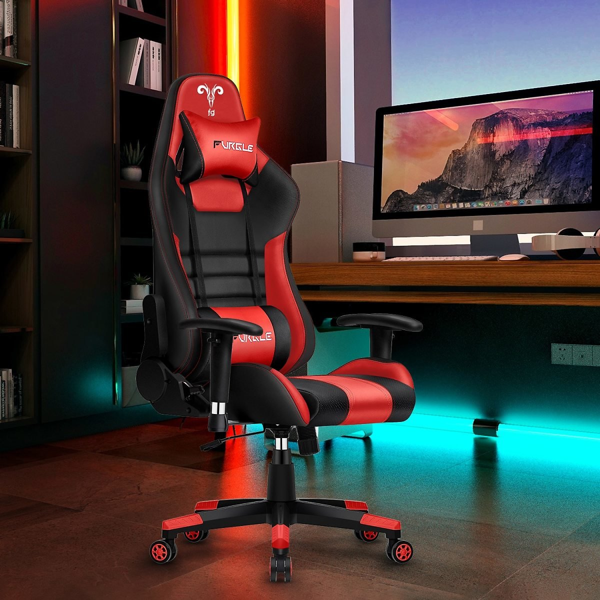 US $133.39 | 42% OFF | Furgle Gaming Office Chairs 180 Degree Reclining Computer Gaming Chair