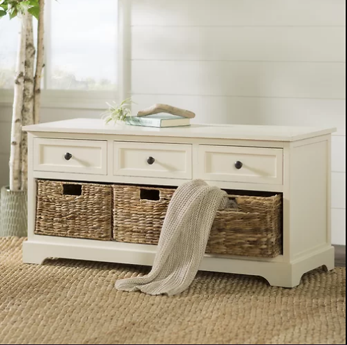 Ardina Drawer Storage Bench