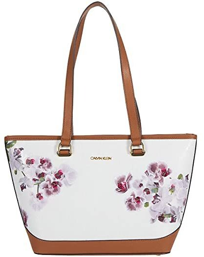 47% Off for Calvin Klein Janae - Mothers Day Print Textured Embossed Tote | 6pm