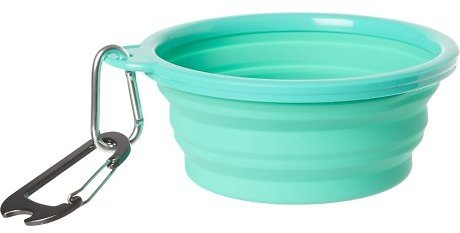 Avalanche Silicone Collapsible Dog Bowl - 33 Oz., Green