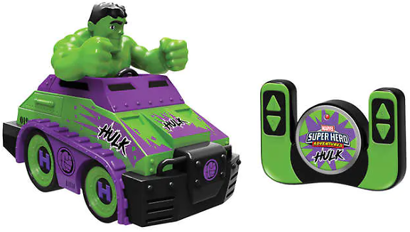 Marvel Hulk 2.4 Ghz RC Tank