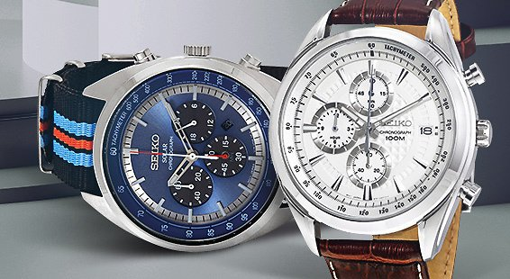 Up to 65% Off Seiko Watch