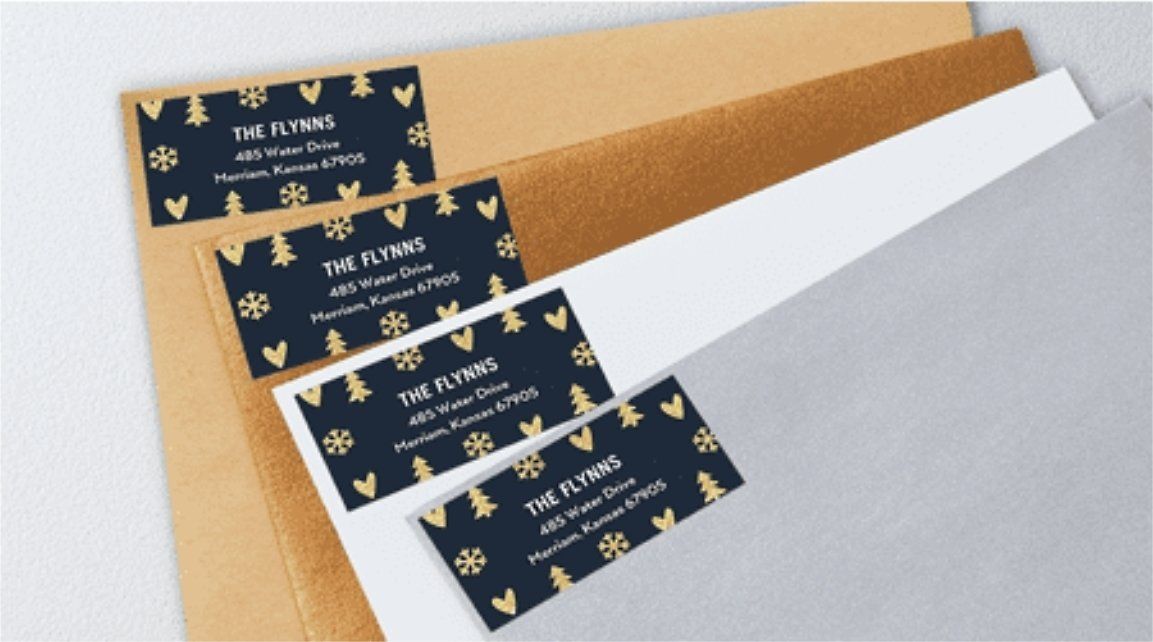 Free 5 Sets Of 24 Count Address Labels | Tiny Prints