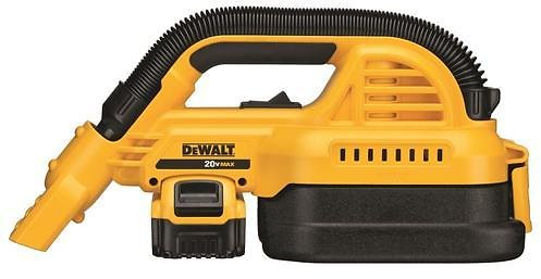 DeWalt 20V Max 1/2-Gallon Wet/Dry Portable Vacuum Kit