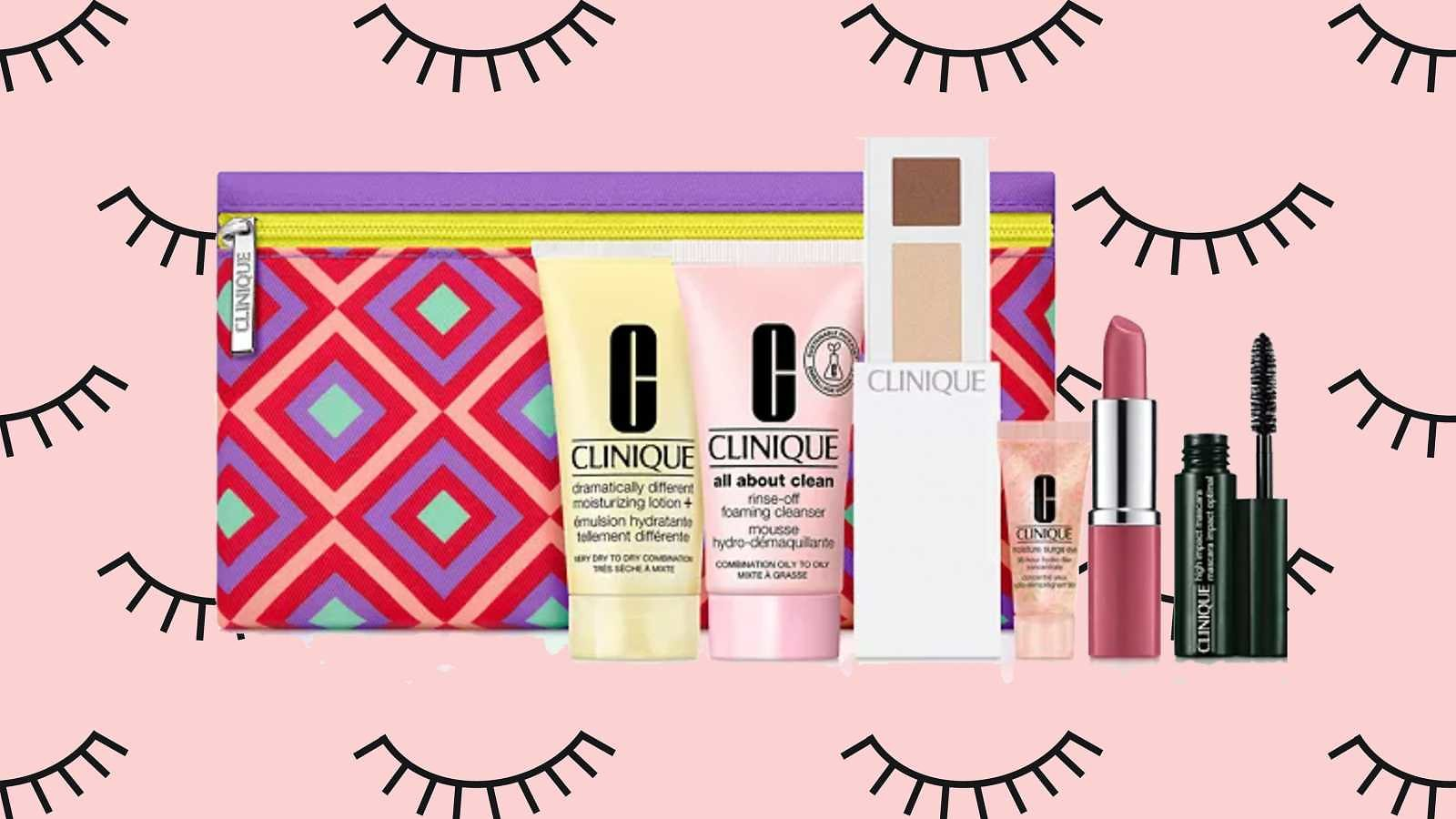 You Can Get a Free 7-piece Clinique Gift When You Buy Makeup At Macy's