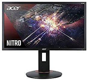 """Acer Nitro XFA240Q Sbiipr 23.6"""" FHD (1920 X 1080) Gaming Monitor with AMD Radeon FreeSync Technology, 1ms (G to G), Up to 165Hz,"""
