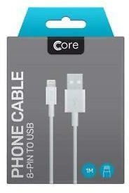 Details About Genuine Charger  for Apple IPhone 5 6 7 8 X IPad Lightning USB Data Lead
