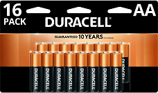 Bonus Rewards: 100% Back in Rewards On Duracell Coppertop AA/AAA 16-PK and AA 24-PK Batteries