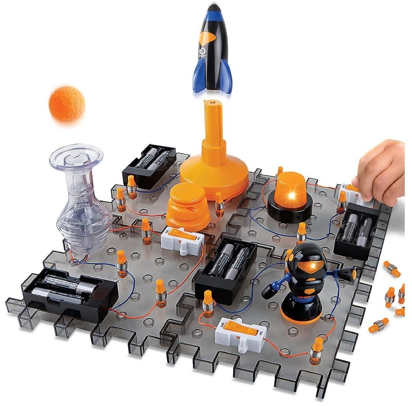 Discovery Mindblown Action Circuitry Electronic Experiment Complete STEM Set