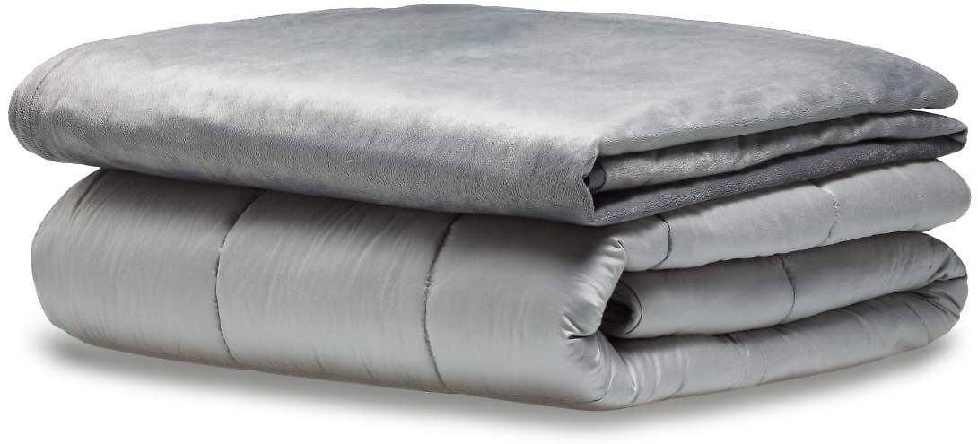 Snuggle Pro Premium Adult Weighted Blanket Set, Large 20lbs (Queen Size 60