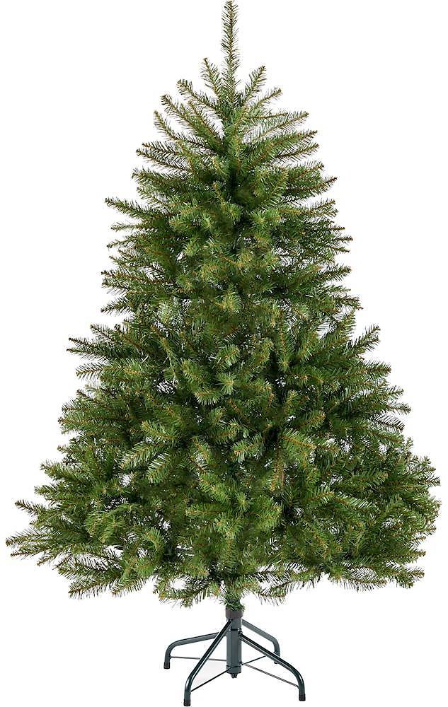 Noble House 4.5' Fraser Fir Unlit Hinged Artificial Christmas Tree Green 307302